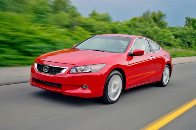 Honda Accord 8 Coupe