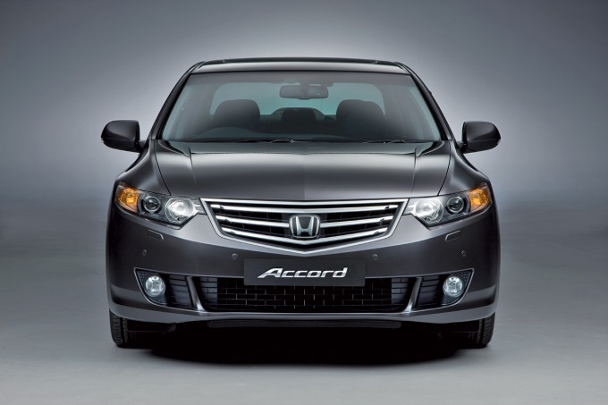 Honda Accord 8 Gray