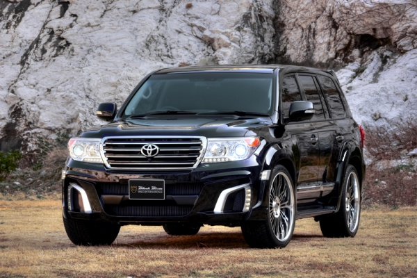 Toyota Land Cruiser 200 в обвесе Wald Bison